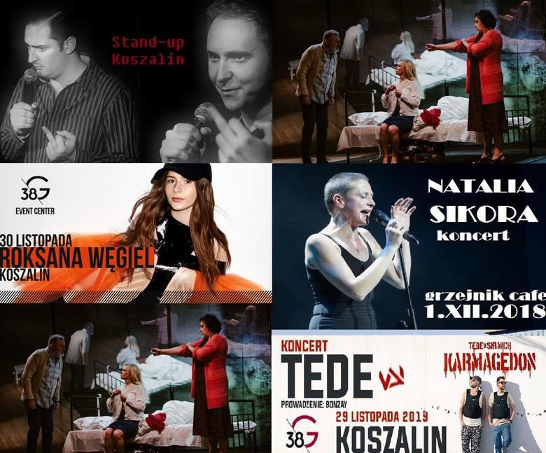 Końcówka roku w Koszalinie zapowiada się bardzo rozrywkowo! Muzyka, stand-up, taniec oraz teatr. Sprawdźcie kalendarz wydarzeń na ten miesiąc i wybierzcie