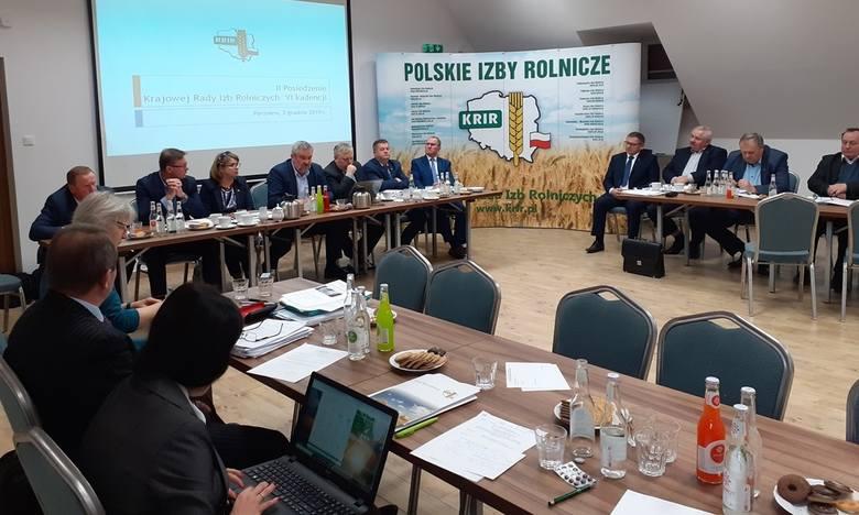 II Posiedzenie Krajowej Rady Izb Rolniczych w Parzniewie