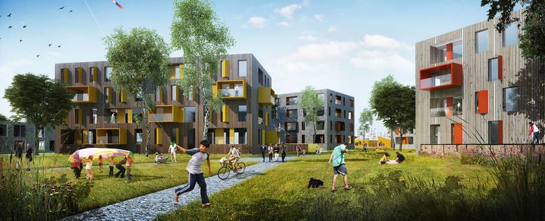 Tak ma wyglądać ekologiczne osiedle w Jaworznie