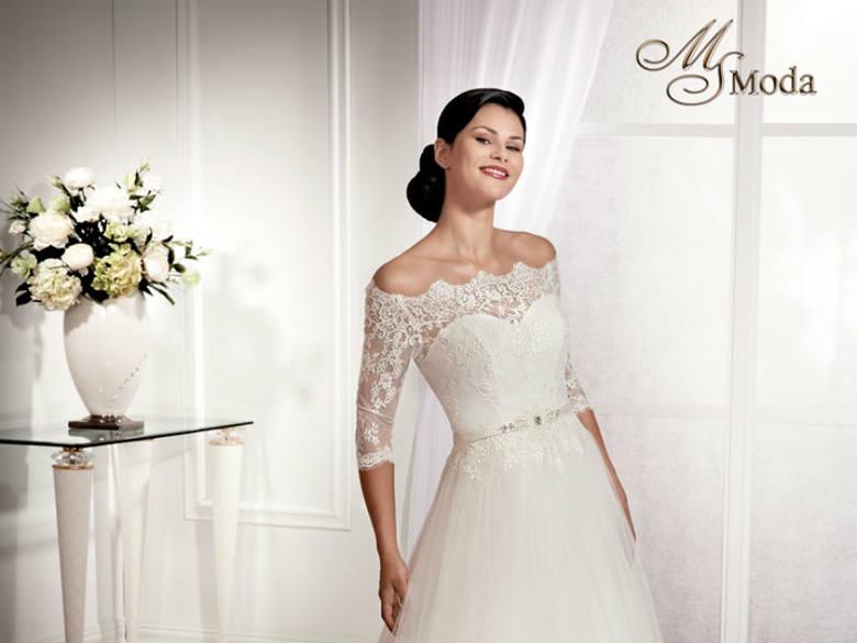 2763442d5f Cztery odsłony koronek w sukniach ślubnych na sezon 2014 proponuje Centrum  Mody Ślubnej Impresja w Rzeszowie