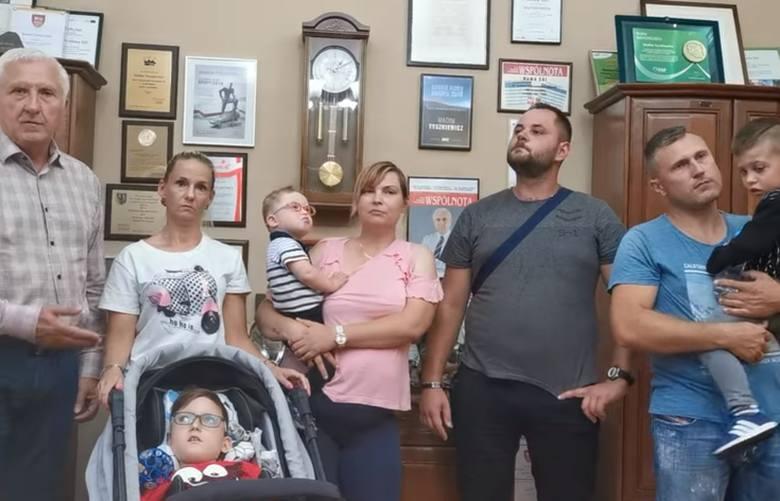 Spotkanie z rodzicami i dziećmi w Urzędzie Miejskim w Nowej Soli