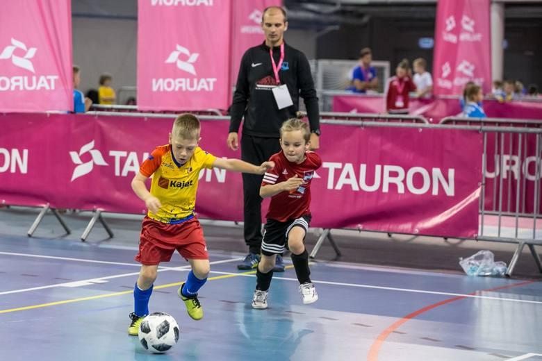 Turniej piłkarski Tauron Energetyczny Junior Cup w Tauron Arenie Kraków 16.10.2018