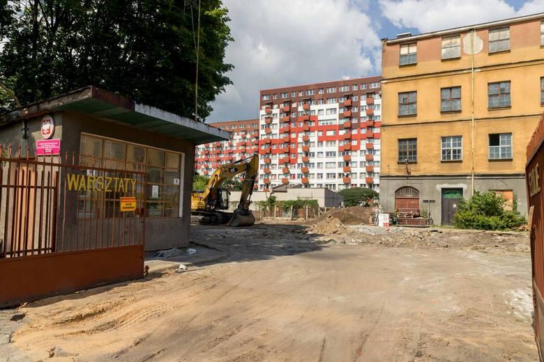 Rozpoczęła się właśnie przebudowa budynku warsztatów Zespołu Szkół Technicznych przy ul. Grunwaldzkiej 18