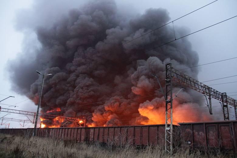 Katastrofa kolejowa w Białymstoku. Pożar cystern