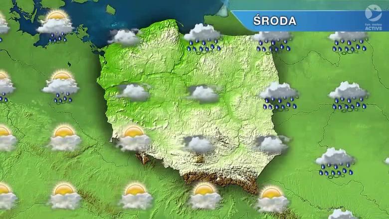 Pogoda w Szczecinie i nad morzem. Dziś może popadać [wideo]
