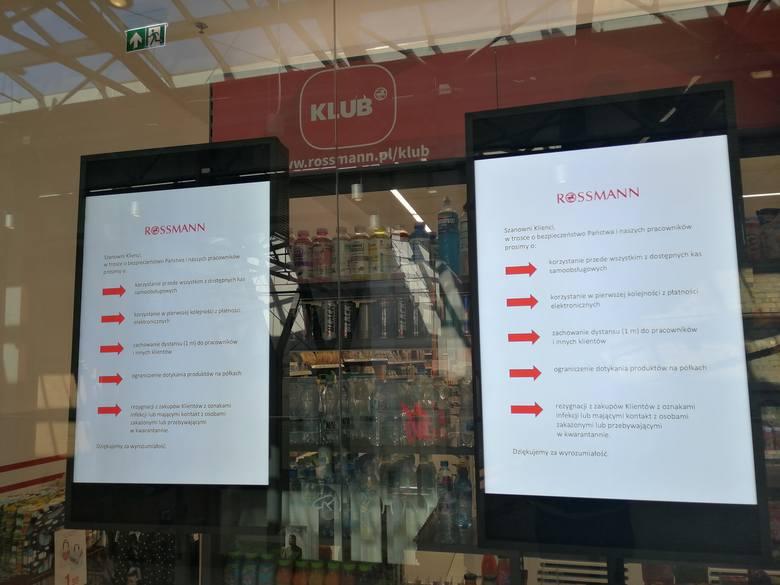 Tak wyglądają lubuskie galerie handlowe w sobotę 14 marca.