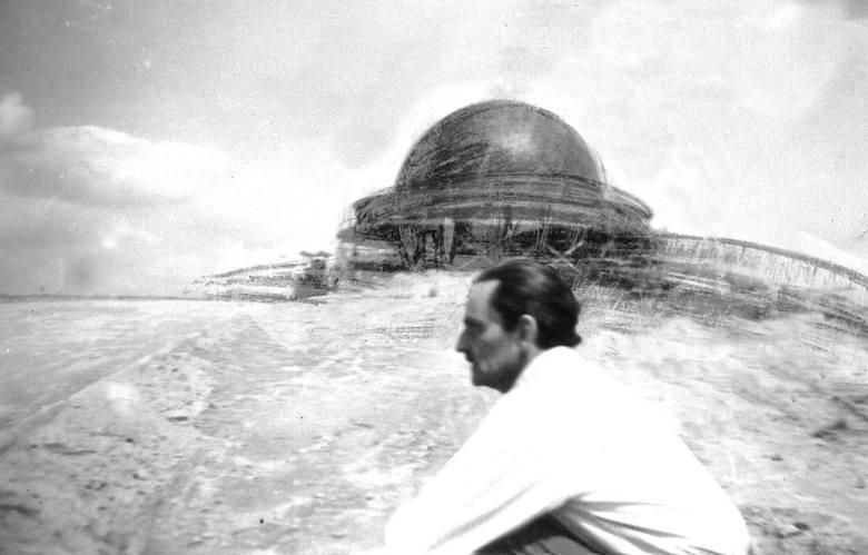 Pierwszy szkic projektanta budynku Planetarium Śląskiego Zbigniewa Solawy staje się rzeczywistościąZobacz kolejne zdjęcia/plansze. Przesuwaj zdjęcia