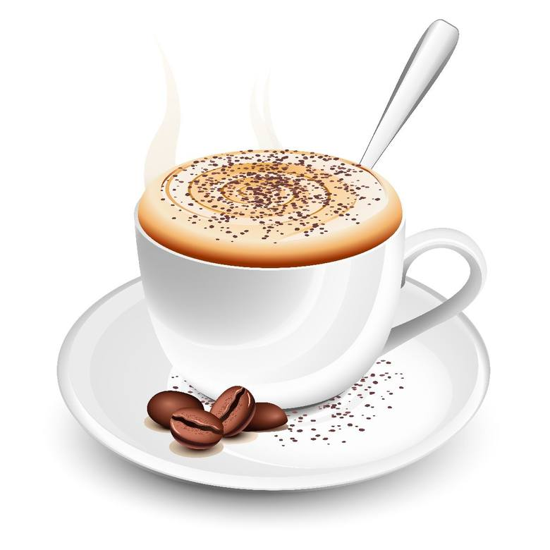 filiżanka kawy rozpuszczalnej - 95 mg