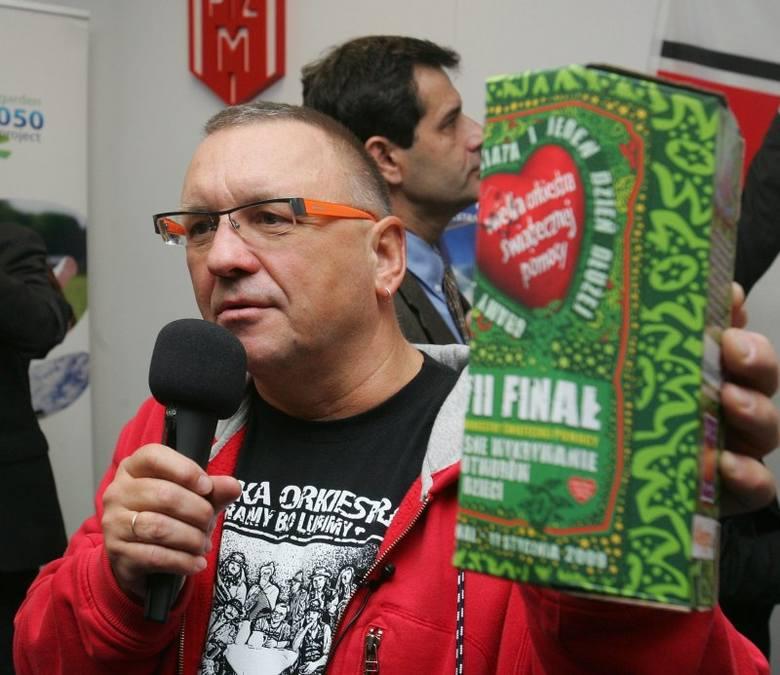 Jurek Owsiak zachęcał Szczecin do gry w Wielkiej Orkiestrze Świątecznej Pomocy
