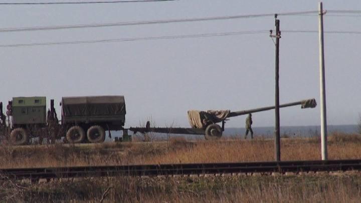Pogranicze Rosji z Krymem