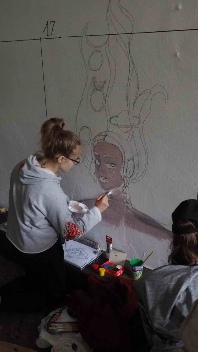 W sobotnie południe w ramach tegorocznych obchodów Dni Koszalina, w przejściu podziemnym w koszalińskim parku odbył się konkurs malarstwa ściennego.