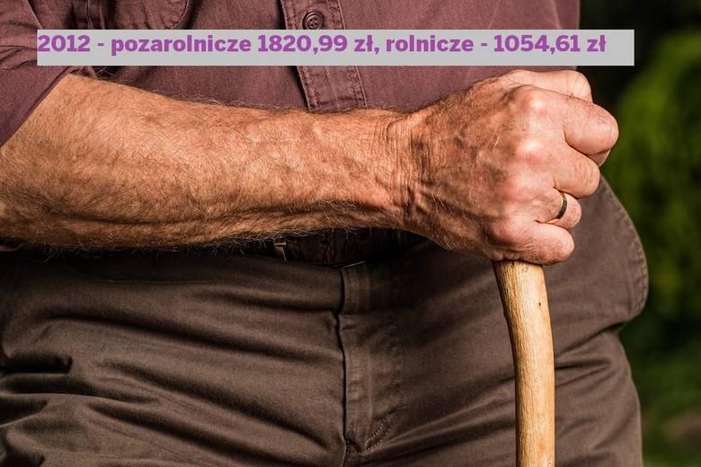 Przeciętna emerytura w Polsce - ile wynosi ta rolnicza w porównaniu z pozarolniczą?