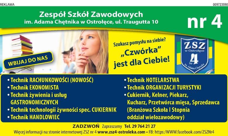 Zespół Szkół Zawodowych Nr 4 im. Adama Chętnika w Ostrołęce