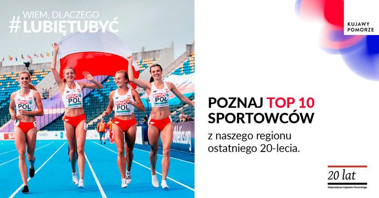 #TOP10 najlepszych sportowców z Kujaw i Pomorza ostatniego 20-lecia