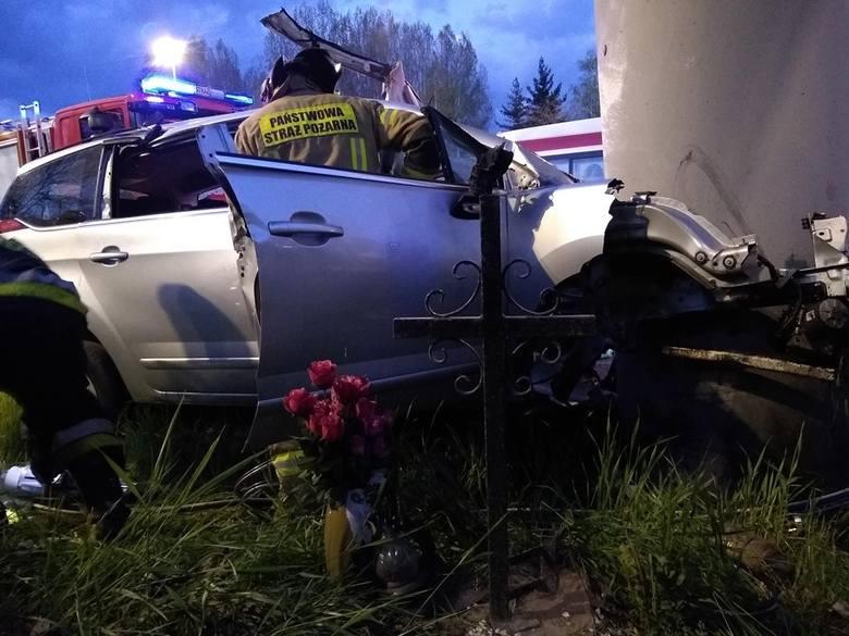 Do tragicznego wypadku doszło w poniedziałek, 22 kwietnia, o godz. 4 nad ranem, na autostradzie A4, na pasie zjazdowym na ul. Mikołowską.