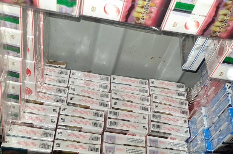 Kuźnica. Nielegalne papierosy o wartości 135 tysięcy złotych ujawnili podlascy celnicy [ZDJĘCIA]