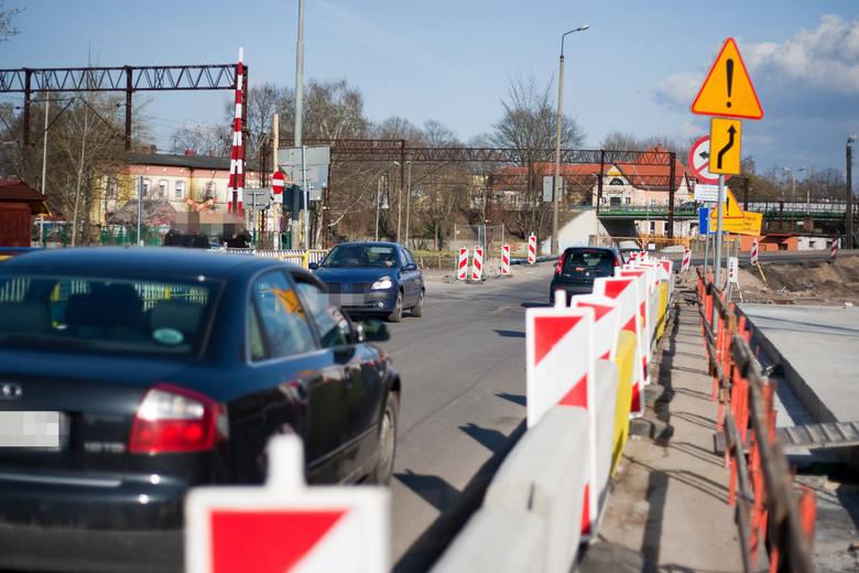 W Ustce trwa remont i przebudowa mostu na Słupi i pobliskiego skrzyżowania. Wraz z mostami zostanie przebudowany 480 m odcinek drogi krajowej. Zakres