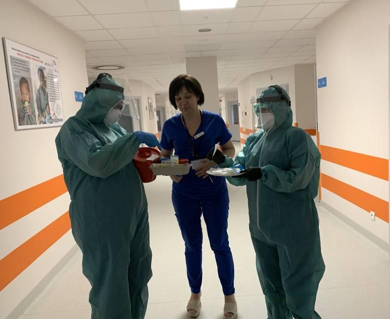 Dr Lidia Stopyra z teamem gotowym do działania