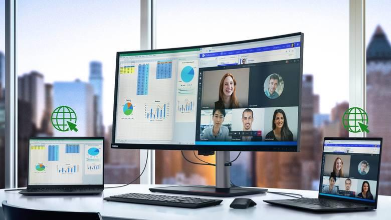 Lenovo wprowadza na rynek nowe laptopy z procesorami Intel Core vPro 11. generacji i AMD Ryzen 5000. Jest i monitor ze złączem Thunderbolt 4