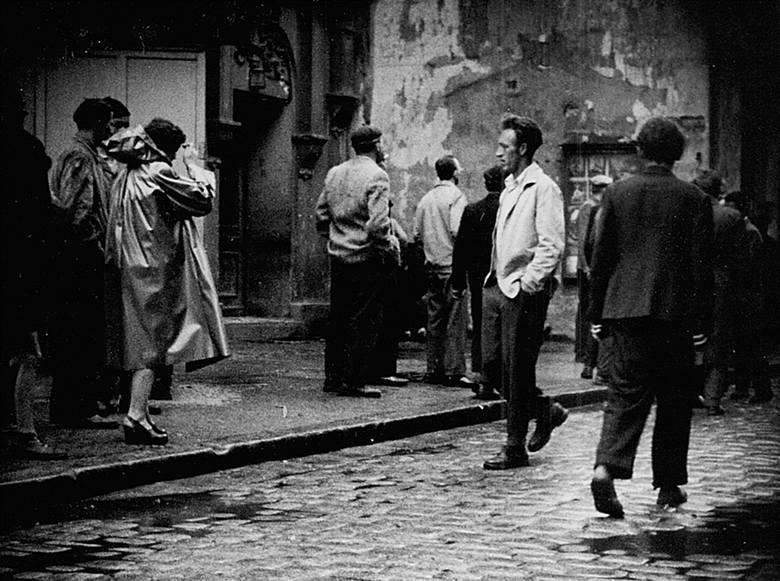 Ulice Zielonej Góry w maju 1960.