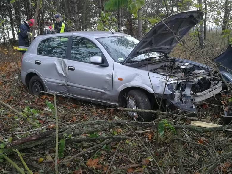 W piątek, o godz. 6.25, strażacy z OSP Knyszyn otrzymali zgłoszenie o wypadku na drodze krajowej nr 65 Knyszyn - Mońki.