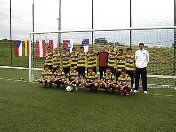 Zwycięska drużyna U-16 Fot. archiwum klubu