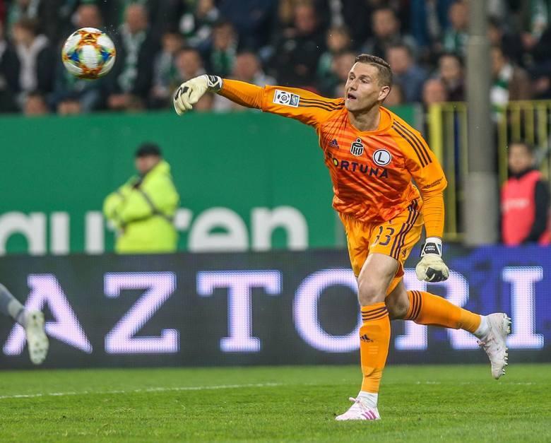 Cały sezon był rezerwowym Radosława Majeckiego, który od lipca został piłkarzem AS Monaco.
