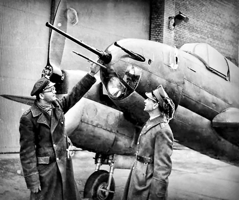 """Prototyp samolotu pościgowego PZL-38 """"Wilk"""""""