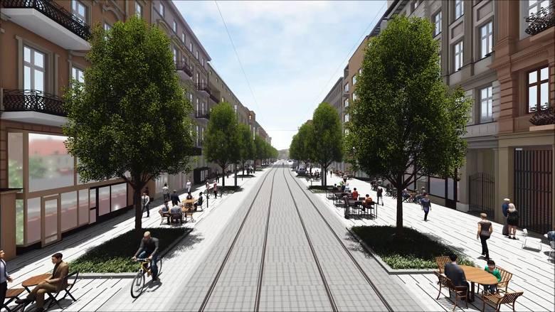 Poprowadzenie linii tramwajowej na Ratajczaka ma poprawić jakość życia w centrum, a nie ją pogorszyć - zapewniają władze miasta