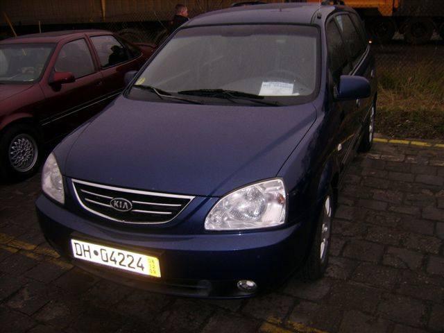 Kia Carens, 2002 r., 2,0 CRDI, wspomaganie kierownicy, elektryczne szyby i lusterka, 4x airbag, klimatronic, centralny zamek, ABS, ESP, 19 tys. 400 zl