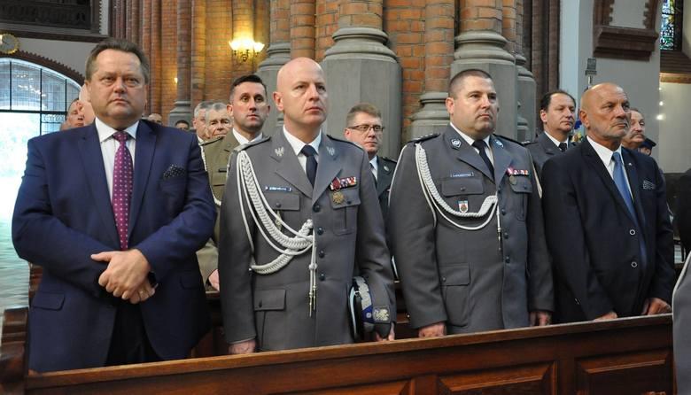 Garnizon podlaski obchodził Święto Policji
