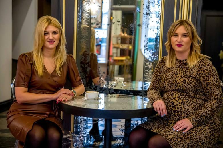 Od lewej: Anna Narel, współwłaścicielka i dyrektor hotelu Traugutta 3 z siostrą Urszulą Dębowską.