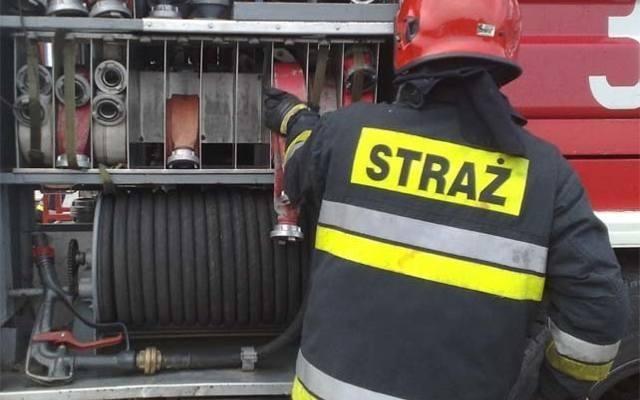 Pożar altanki przy ul. Władysława IV