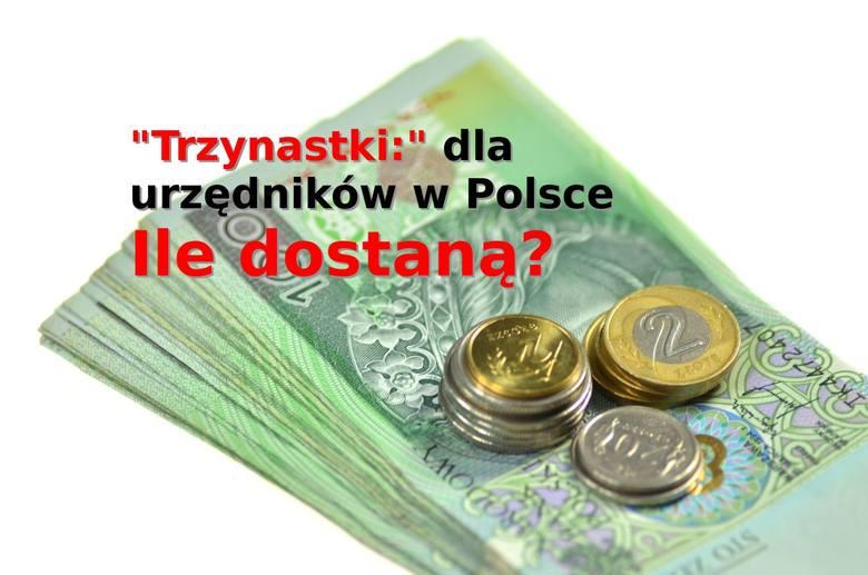 """""""Trzynastki"""" trafiają na konta polskich urzędników - informuje Portal Samorządowy. Sprawdzamy, komu przysługuje trzynasta pensja, na"""