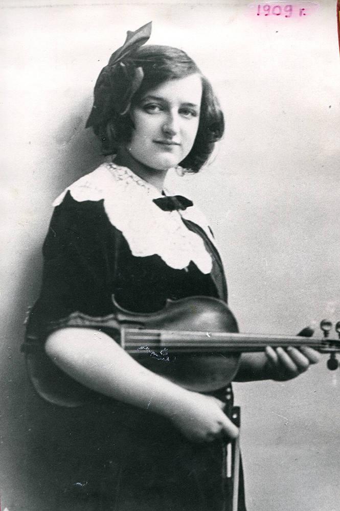 Irena Dubiska – skrzypaczka