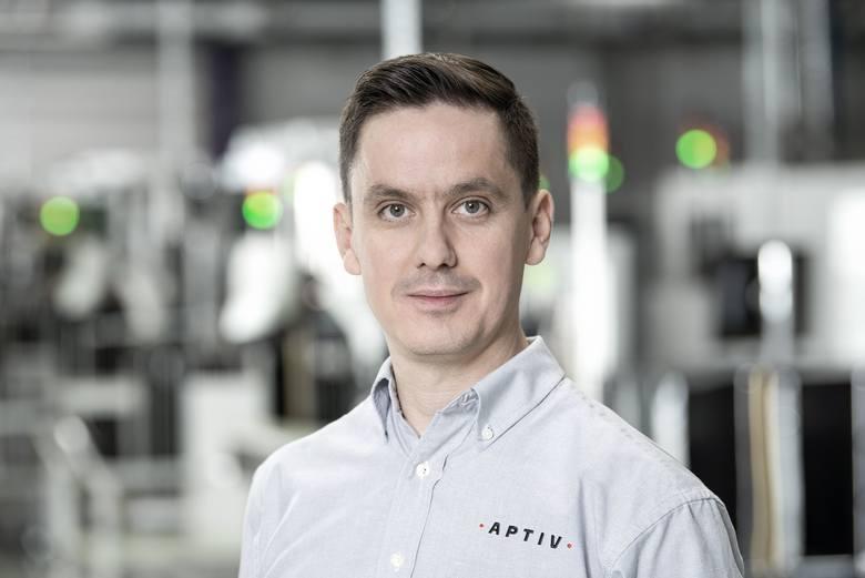 Rafał Brejza, członek zarządu Aptiv Services Poland i dyrektor zakładu Aptiv Gdańsk