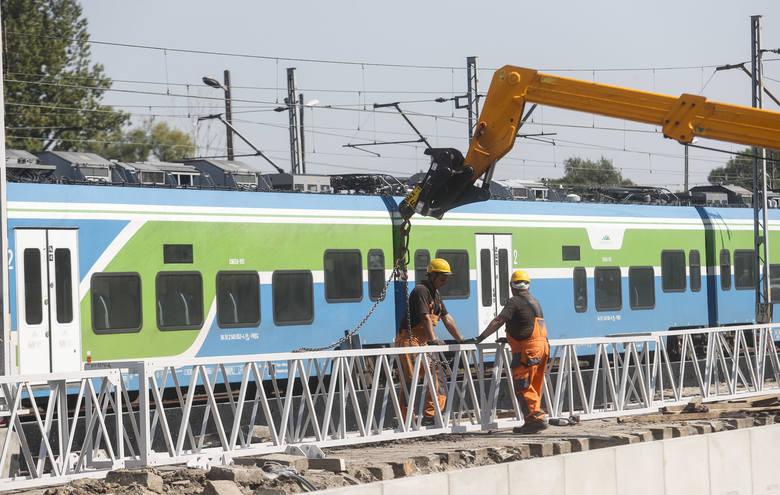 Trwa modernizacja dworca kolejowego Rzeszów Główny.