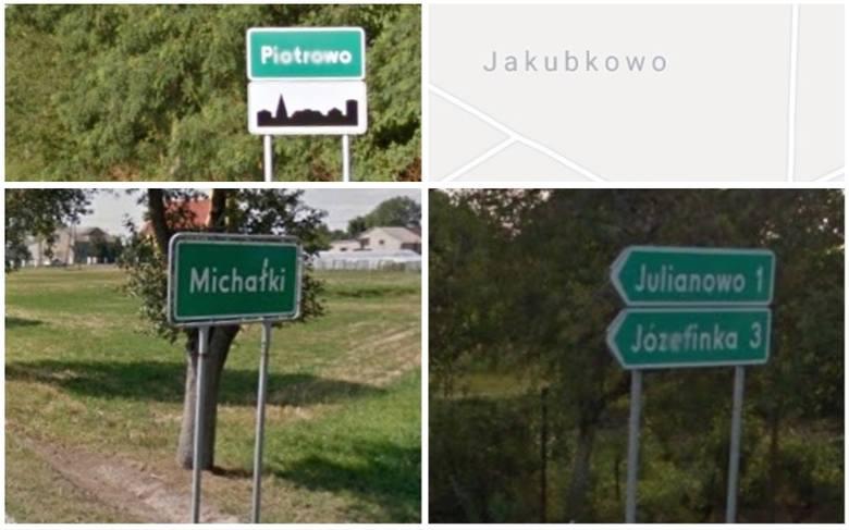 Już niejednokrotnie przekonaliśmy się, że województwo kujawsko-pomorskie kryje na swoim terenie wsie o ciekawych, czasem zaskakujących, a czasem też