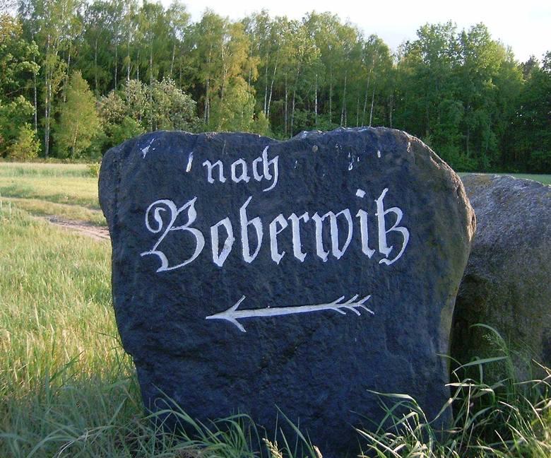 Starsi i młodsi miłośnicy historii z gminy Szprotawa społecznie odnawiają stare kamienie, wskazujące drogę.