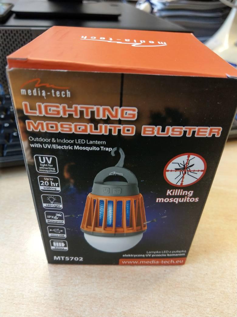 Lampa UV przeciwko komarom Media-Tech MT5702 - nasz test [FILM] - Laboratorium odc. 39
