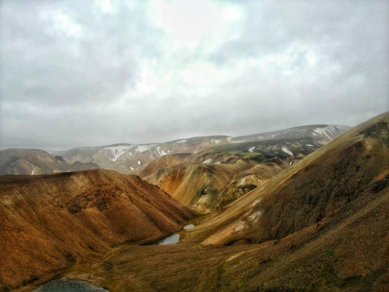 Dzień dziewiąty: tęczowe góry Landmannalaugar na Islandii
