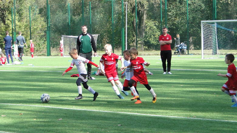 Małopolska Liga Talentów (rocznik 2011). Turniej na boisku Hutnika Kraków, 6 października 2018
