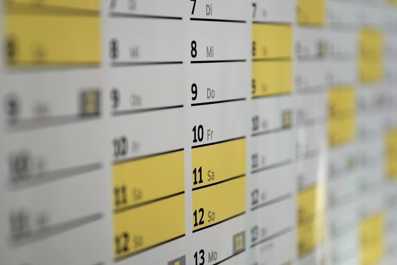 Dni wolne 2019 - zobacz kalendarz na przyszły rok! Czy będą długie weekendy?