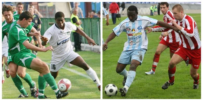 Szlaki piłkarzy z Afryki na Podkarpaciu przecierał w 1995 roku Kameruńczyk Ebénézer Mfomou, który rozegrał 7 spotkań w barwach (ekstraklasowej wówczas)