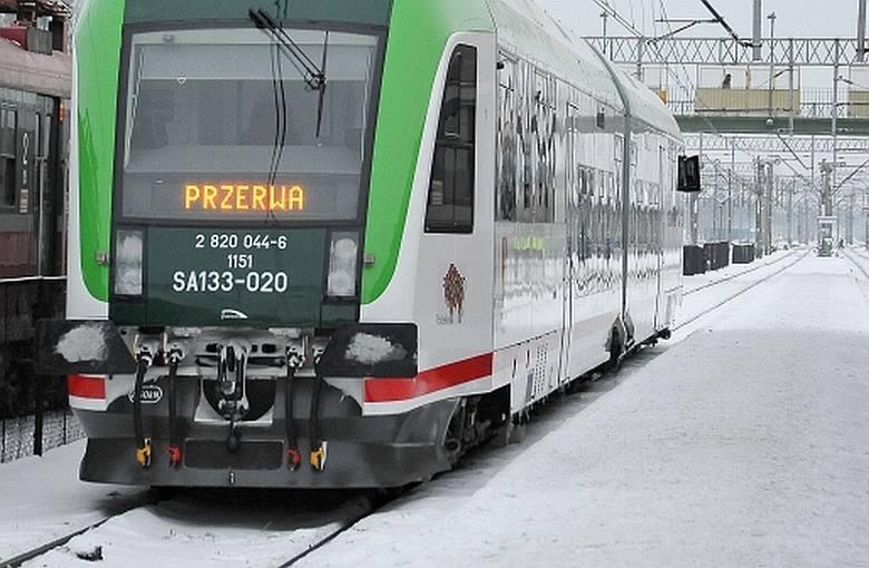 Strajk na kolei. Obejrzyj zdjęcia, przeczytaj relację