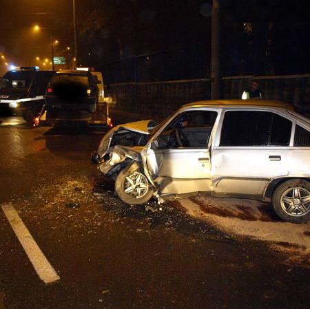 Gorzów Wlkp: Wypadek na Podmiejskiej (zdjęcia, mapa)