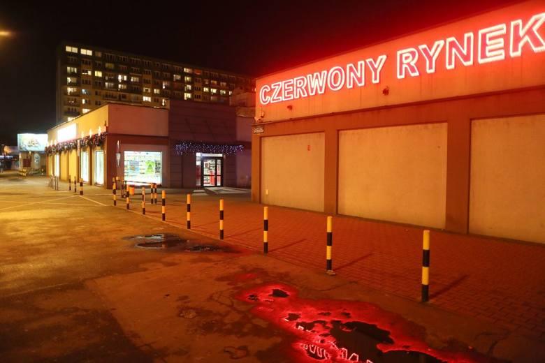 Czerwony Rynek pod lupą policjantów