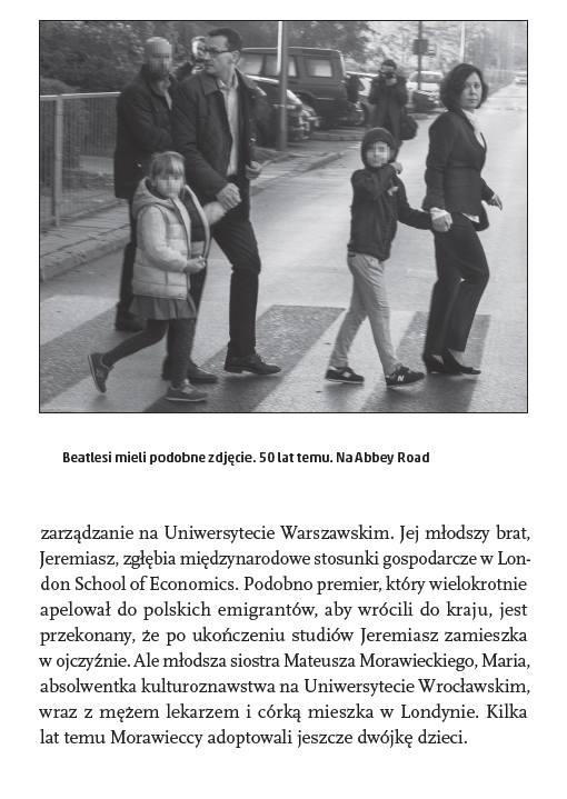 W książce o dorosłych dzieciach Morawieckiego jest jeden akapit. O adopcji - jedno zdanie.