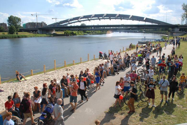 Przystań na Plaży – projekt realizowany przez Zarzą Zieleni Miejskiej. Plaża będzie działała między 30 czerwca a 2 września. Zlokalizowana jest w pobliżu
