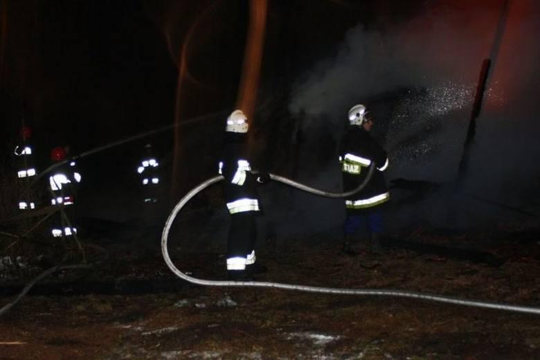 Strażacy walczyli z ogniem przez 7 godzin [ZDJĘCIA]